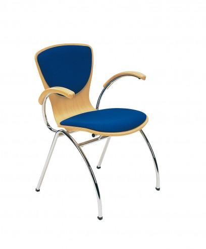 Krzesło Bingo chrome arm plus C14