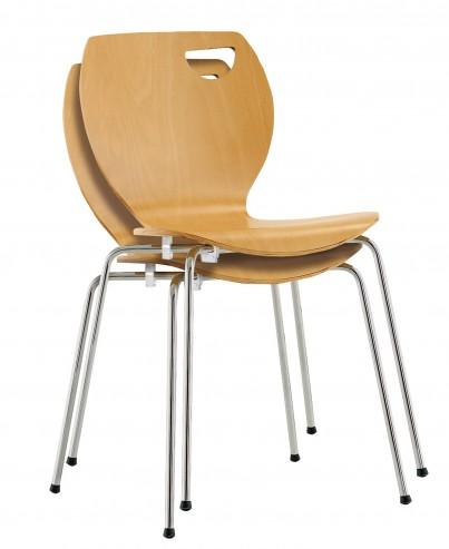 Krzesło Cappucino sztaplowanie