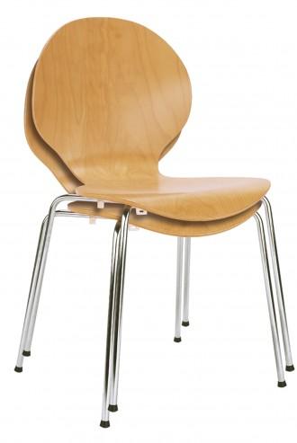 Krzesło Espresso chrome sztaplowanie