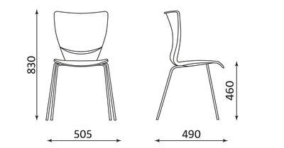Wymiary krzesła Fiuggi