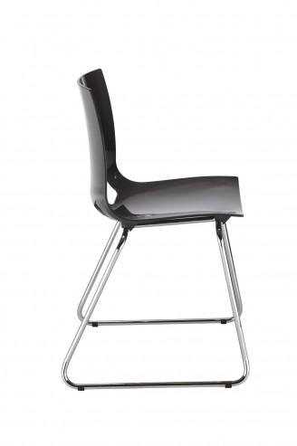 Krzesło Fondo cfs chrome gloss antracyt