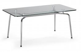 Stolik z blatem szklanym Hello table duo GL