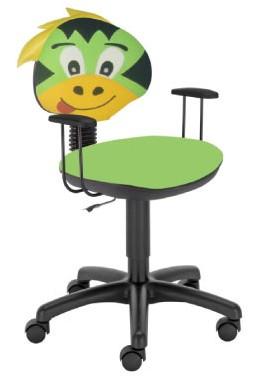 Krzesło obrotowe dla dzieci Kika smok