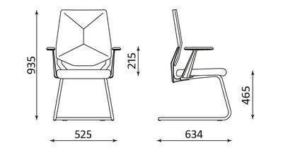 Wymiary fotela Next