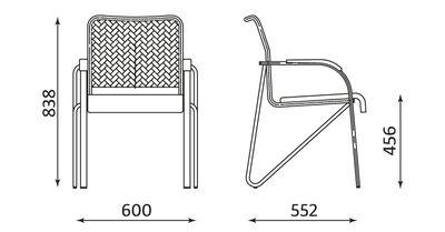 Wymiary krzesła Samba