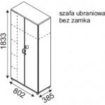 Szafa H52