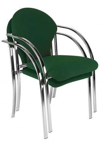 Krzesła Visa sztaplowane