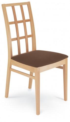 Bergamo 1B drewniane krzesło do kawiarni