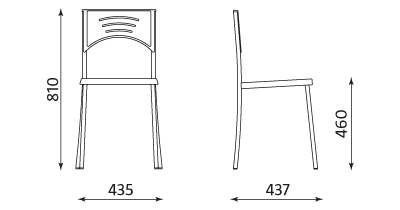 CONNECT II arm chrome
