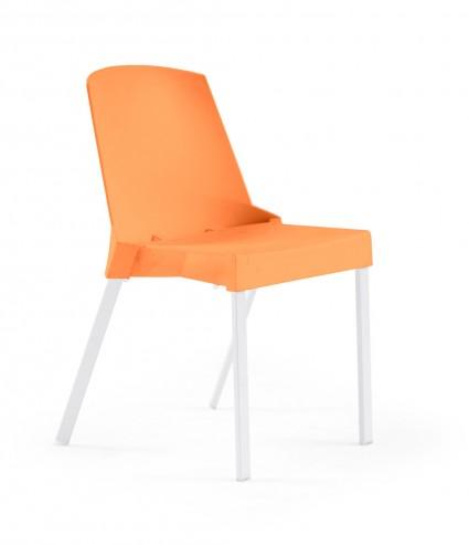 Krzesło SOLEIL pomarańczowe