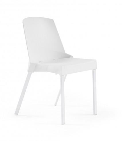 Krzesło SOLEIL białe