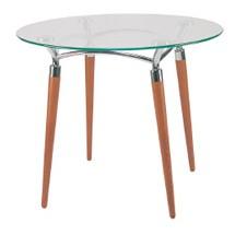 Stół z blatem szklanym Algeo fi 900mm