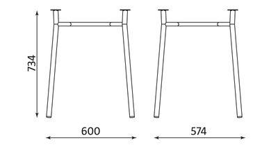 Wymiary stolika Tiramisu