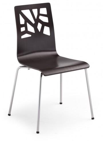 Krzesło VERBENA chrome przód