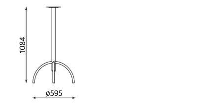 Wymiary stolika Wiktor 1100