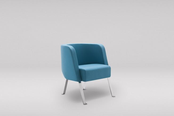 Fotel NEON S metalowe