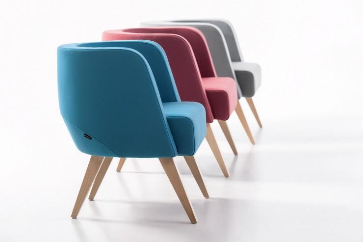 Fotele NEON S,M, L drewniane
