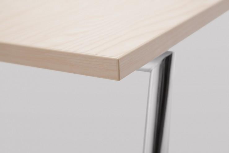 Stolik FIN D podstawa metalowa detal