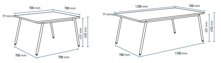 Wymiary stolików fin 1